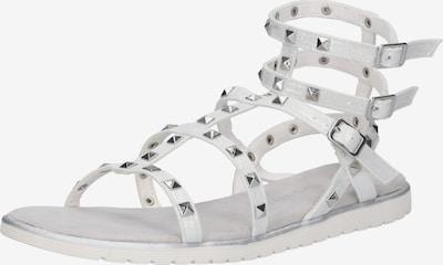 bugatti Sandale 'Joleen' in silber / weiß, Produktansicht