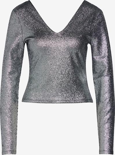ONLY Shirt 'LALESSA' in schwarz / silber, Produktansicht