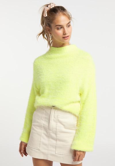 MYMO Pullover in neongrün, Modelansicht