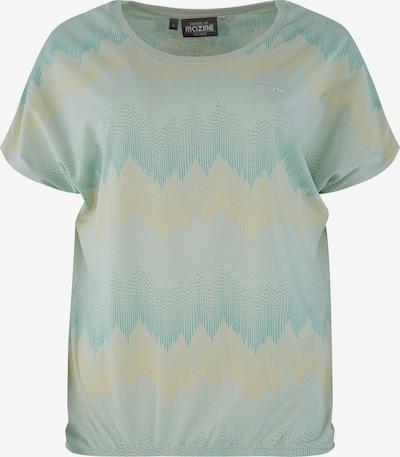 mazine Shirt 'Celina' in pastellgelb / jade / pastellgrün, Produktansicht