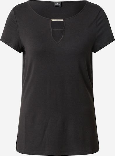 s.Oliver BLACK LABEL Majica u crna, Pregled proizvoda