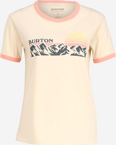 BURTON Shirt in beige / orange, Produktansicht