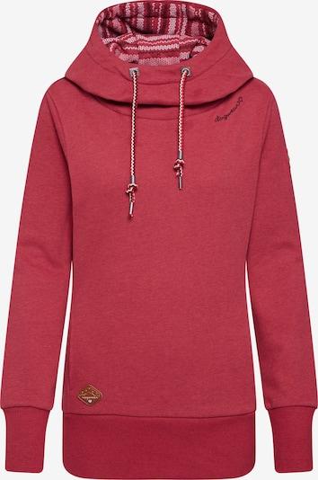 Ragwear Sweatshirt 'YODA' in rot, Produktansicht