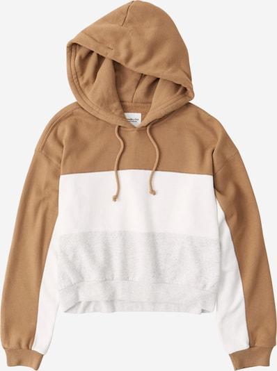 Abercrombie & Fitch Bluzka sportowa 'WEBEX' w kolorze brązowy / nakrapiany szary / białym, Podgląd produktu