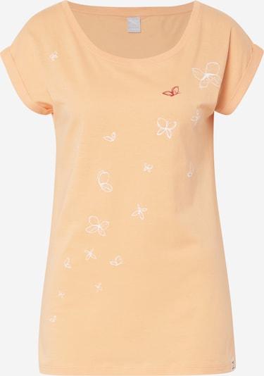 Iriedaily Shirt 'Butterflies Tee' in apricot, Produktansicht