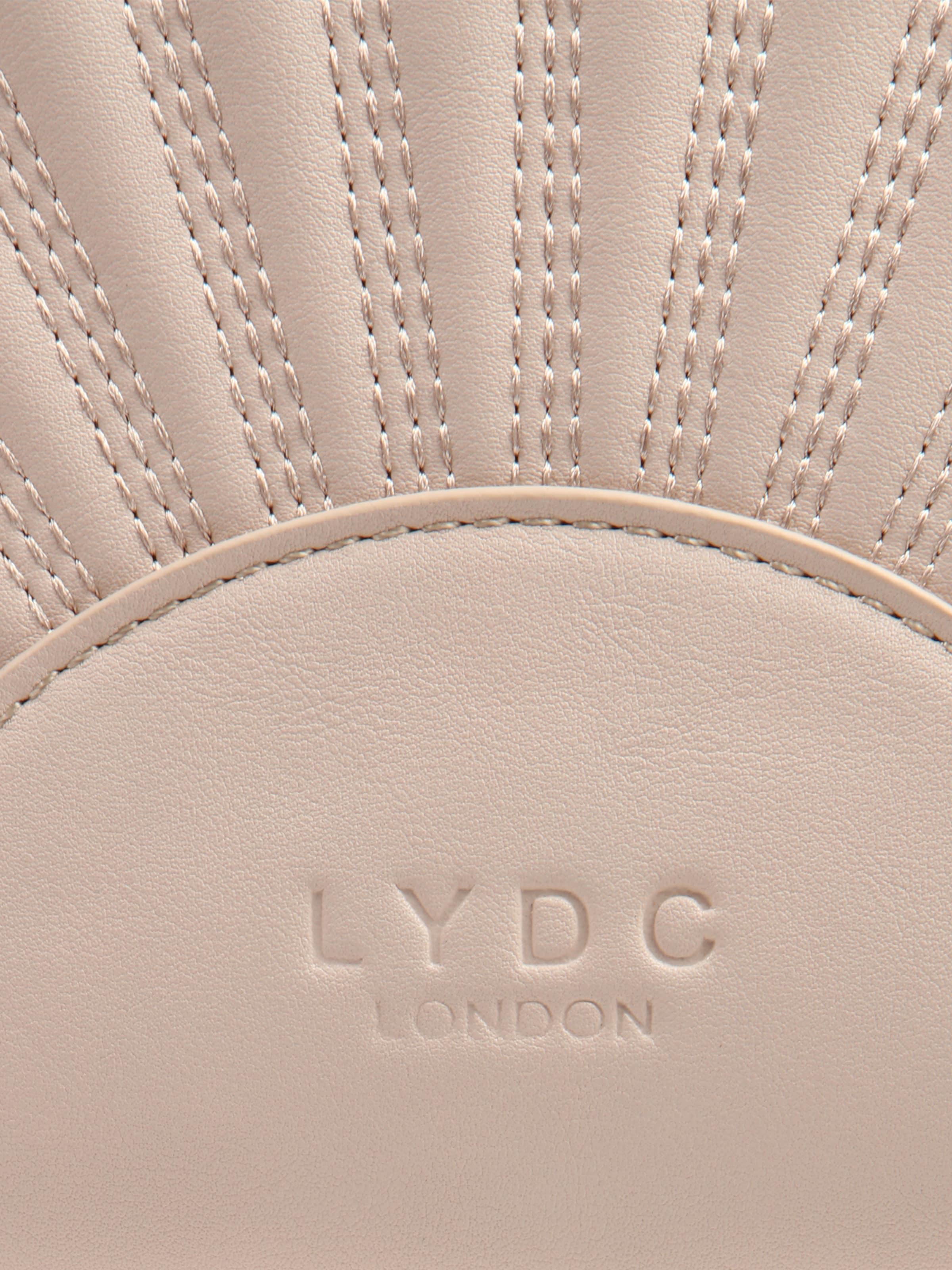 Verkauf Großhandelspreis Billig Kaufen LYDC London Umhängetasche 'Muschel' mit Tragekette TKJZ8e