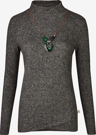 Heimatliebe Pullover in graumeliert, Produktansicht