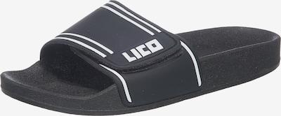 LICO Badelatschen in schwarz, Produktansicht