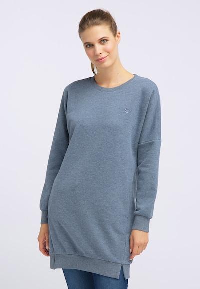 DREIMASTER Sweatshirtkleid in blau, Modelansicht