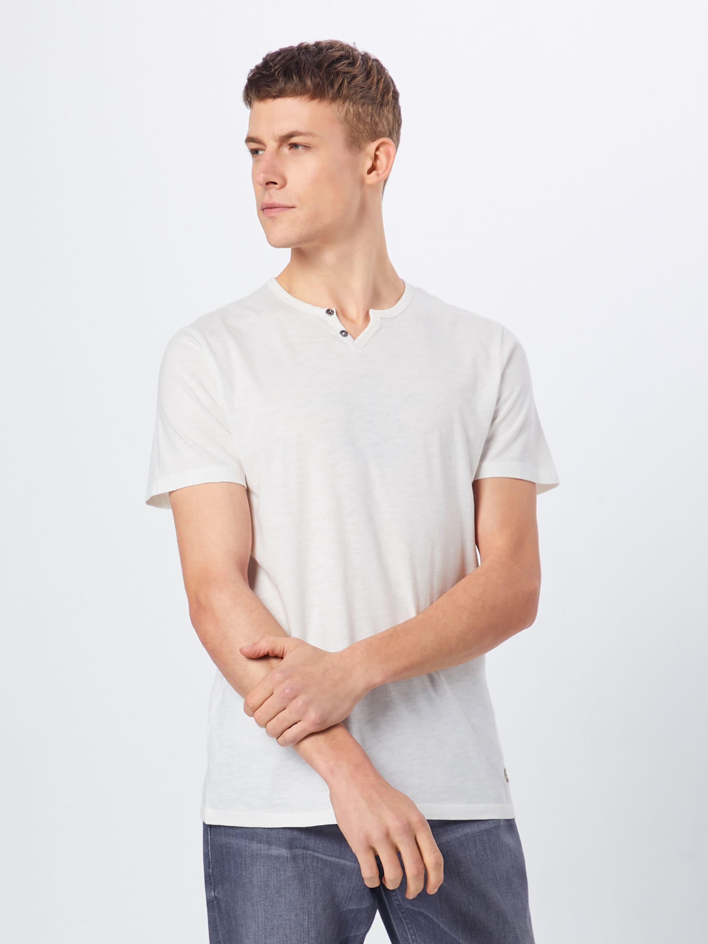 Jackamp; Chiné Jones 'jpben' Blanc En T shirt ID2EH9W