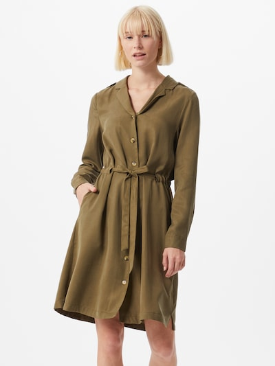 OBJECT Kleid 'TILDA' in oliv, Modelansicht