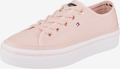 TOMMY HILFIGER Nízke tenisky - ružová / biela, Produkt