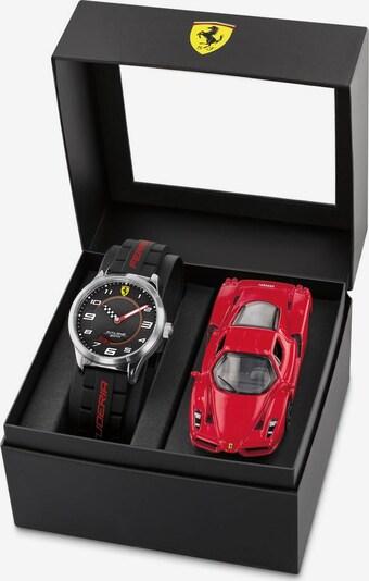 Scuderia Ferrari Uhr in rot / schwarz: Frontalansicht