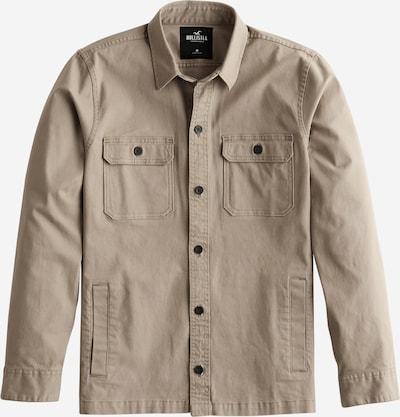 HOLLISTER Koszula 'LS TWILL OVERSHIRT' w kolorze beżowy / oliwkowym, Podgląd produktu