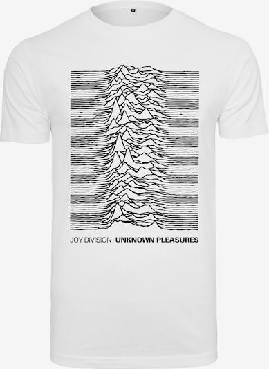 Mister Tee Shirt 'Joy Division Up' in schwarz / weiß: Frontalansicht