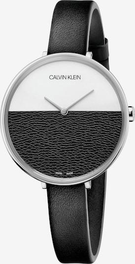 Calvin Klein Uhr in schwarz / weiß, Produktansicht