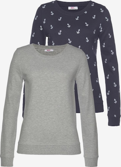 FLASHLIGHTS Sweatshirt in blau / grau, Produktansicht