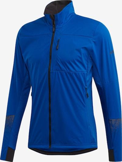 ADIDAS PERFORMANCE Sportjas 'Xperior' in de kleur Royal blue/koningsblauw / Zilvergrijs / Zwart, Productweergave