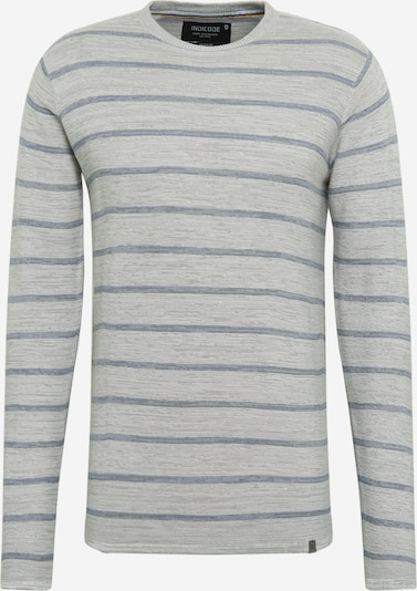 INDICODE JEANS Sweater 'Luscombe' in Blue / Grey mottled, Item view