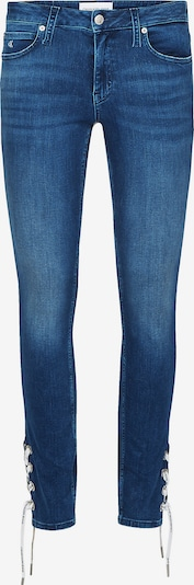 Calvin Klein CKJ 011 Mid Rise Skinny Laced Ankle Jeans ' ' in blue denim, Produktansicht