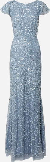 Maya Deluxe Kleid 'FLUTTER SLEEVE ALL OVER SEQUIN MAXI DRESS WITH DIP BACK' in rauchblau, Produktansicht