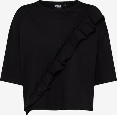 Urban Classics Shirt in schwarz: Frontalansicht