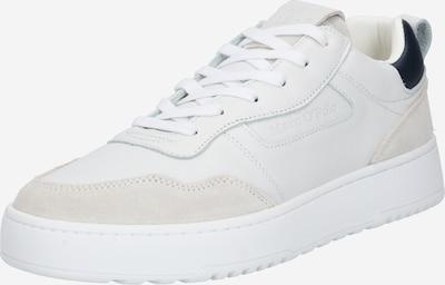 Marc O'Polo Sneakers laag in de kleur Beige / Marine / Wit, Productweergave