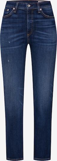 rag & bone Jean 'NINA' en bleu denim, Vue avec produit