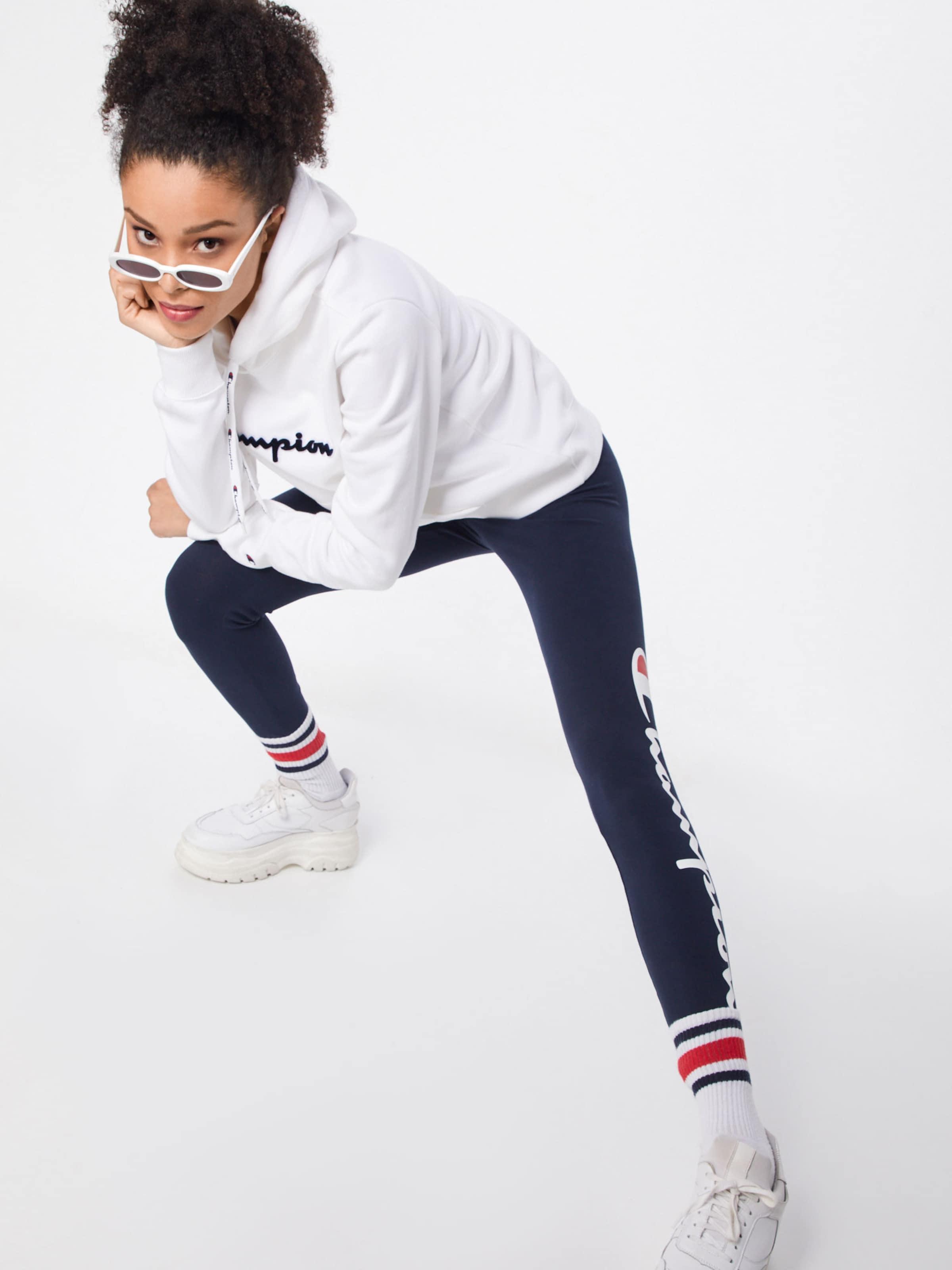 Weiß Authentic In RotSchwarz Champion Athletic Sweatshirt Apparel 0P8XOnwk