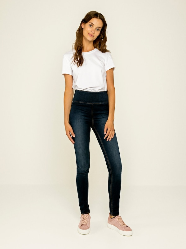 PIECES High-Waist-Jeans