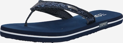 ESPRIT Slippers 'Glitter Thongs' in navy, Produktansicht