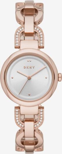 DKNY Uhr in gold / weiß: Frontalansicht