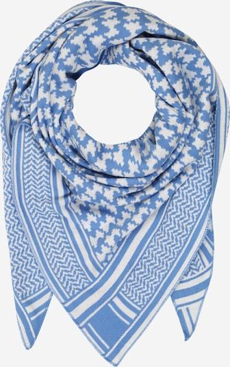 Zwillingsherz Masque en tissu 'Liv' en bleu / blanc, Vue avec produit