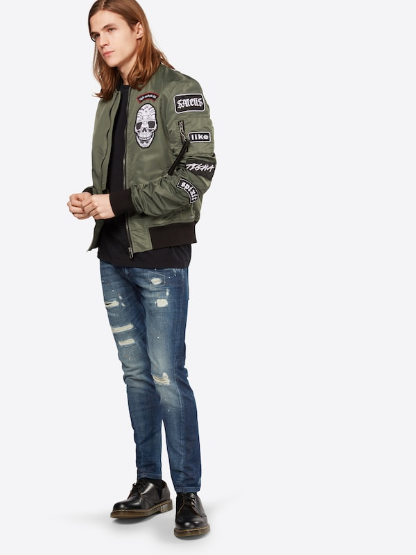 tigha Skinny Jeans mit used Details 'Billy the kid'