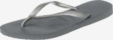 HAVAIANAS T-Bar Sandals 'Slim' in Grey