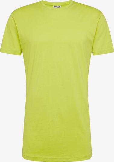 Urban Classics Shirt in de kleur Citroengeel, Productweergave