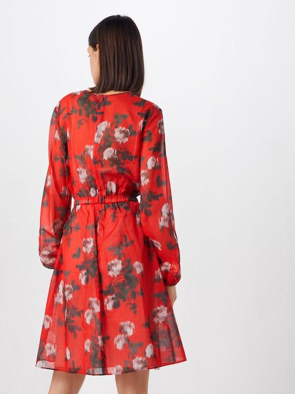 Hugo Boss Damen Kleid Kasika rot (74) 40: : Bekleidung