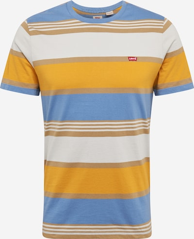 LEVI'S T-Shirt in hellblau / gelb / orange, Produktansicht