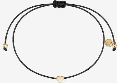 Glanzstücke München Armband in gold / schwarz, Produktansicht