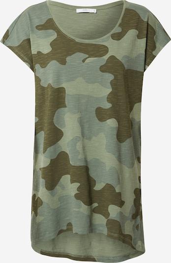 Tricou EDC BY ESPRIT pe kaki / oliv: Privire frontală
