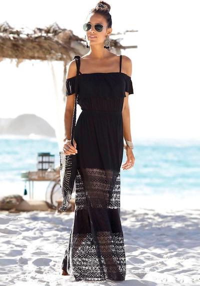 LASCANA Maxikleid in schwarz, Modelansicht