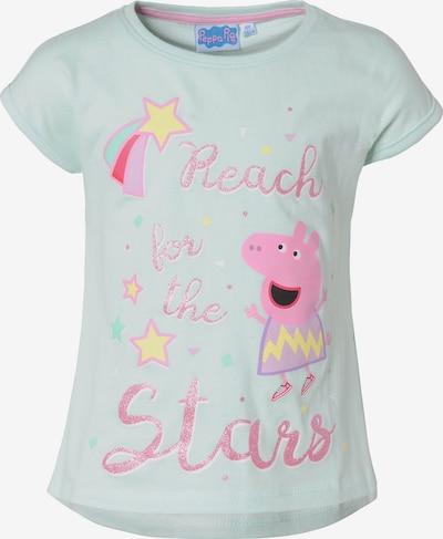 Peppa Pig T-Shirt in hellblau / hellpink, Produktansicht