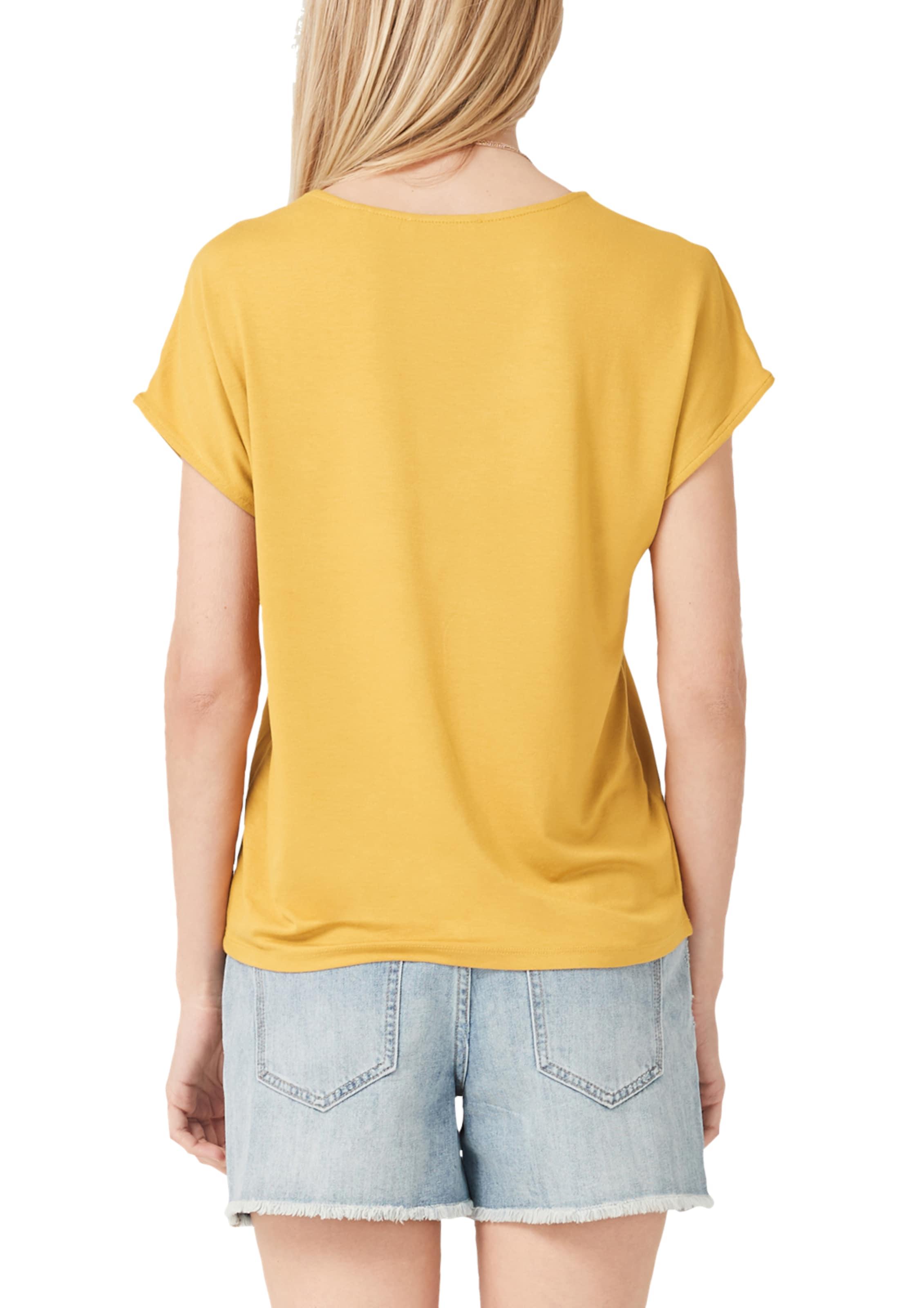 Label oliver Shirt Red In S Goldgelb yb7gYf6v
