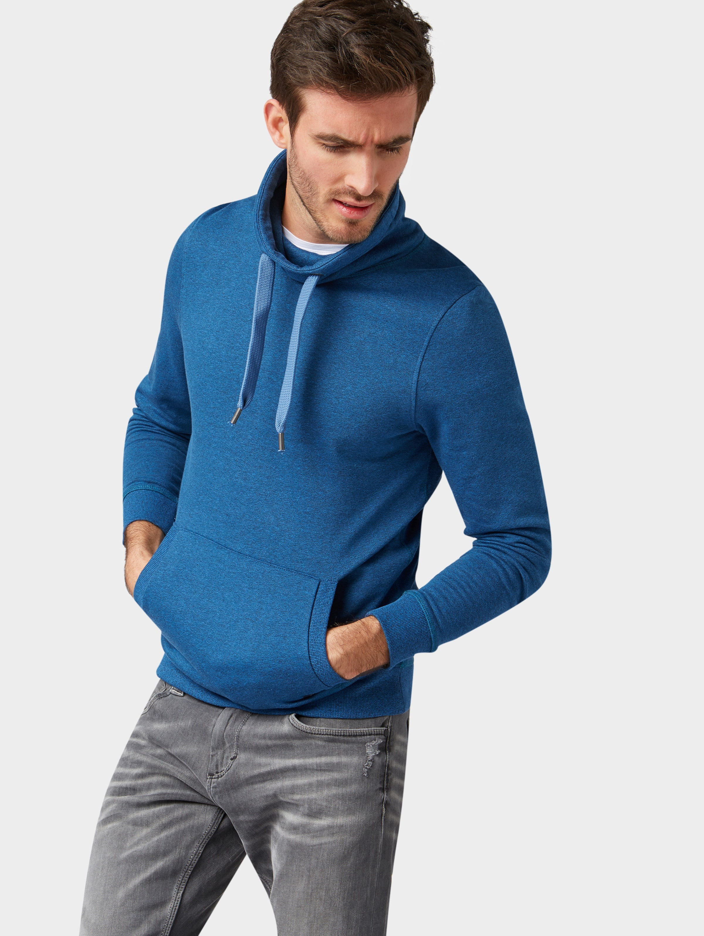 Royalblau In Tom Sweatshirt Tailor Tailor Sweatshirt Tom In 4Lc5ASRjq3