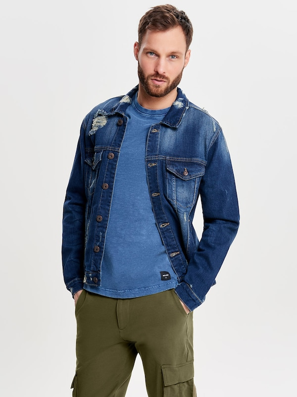 Only & Sons Jeans Jacke