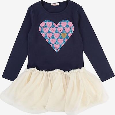 Billieblush Kleid in creme / navy, Produktansicht