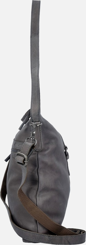 Spikes & Sparrow Idaho Schultertasche Leather 32 Cm