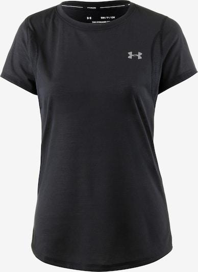 UNDER ARMOUR Funkcionalna majica 'Streaker' | pegasto črna barva, Prikaz izdelka
