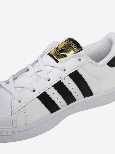 ADIDAS ORIGINALS Sneaker in gold weiß | ABOUT YOU