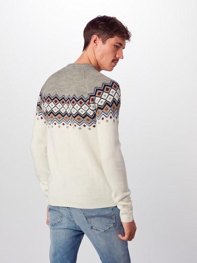 BLEND Pullover in offwhite: Rückansicht